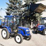 Lovol TB 454 с коммунальным оборудованием –  профессиональный помощник для городских хозяйств